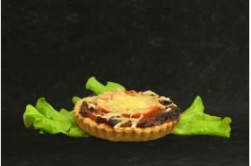 Pizza ronde - Tomates oignons