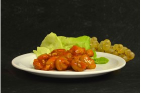 Salade champignons à la grecque