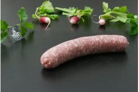 Grosse saucisse au Muscadet